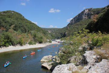 Canoë-kayak en Ardèche